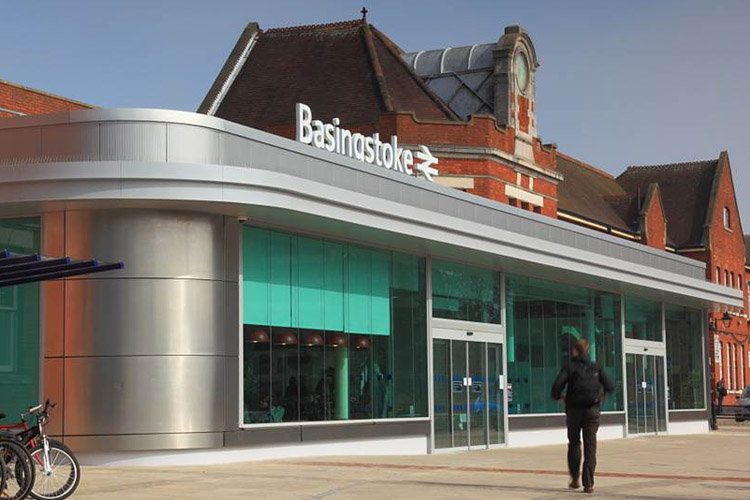 Basingstoke Train Station Drawing Design